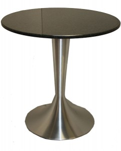 ES1578 dining brushed steel dining